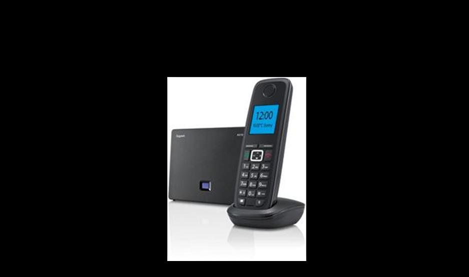 Siemens Gigaset A510IP Voip Cordless Phone Image