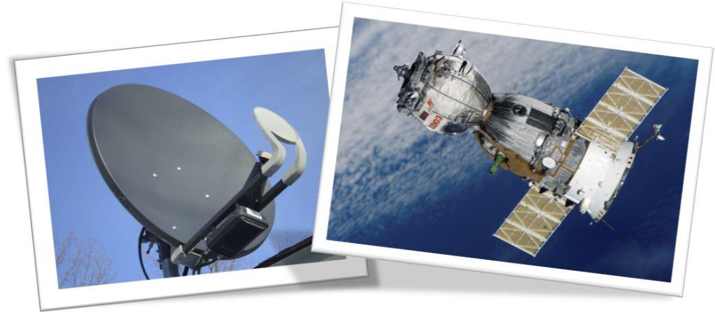 Zipplink satellite dish